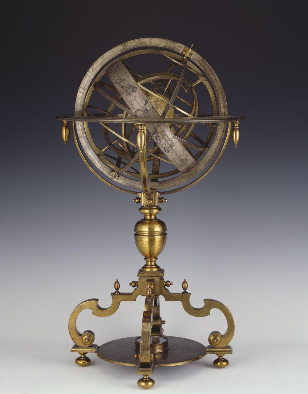 Armillary sphere 1750 other pinterest sph re armillaire armillaire et globe terrestre - Tatouage globe terrestre ...