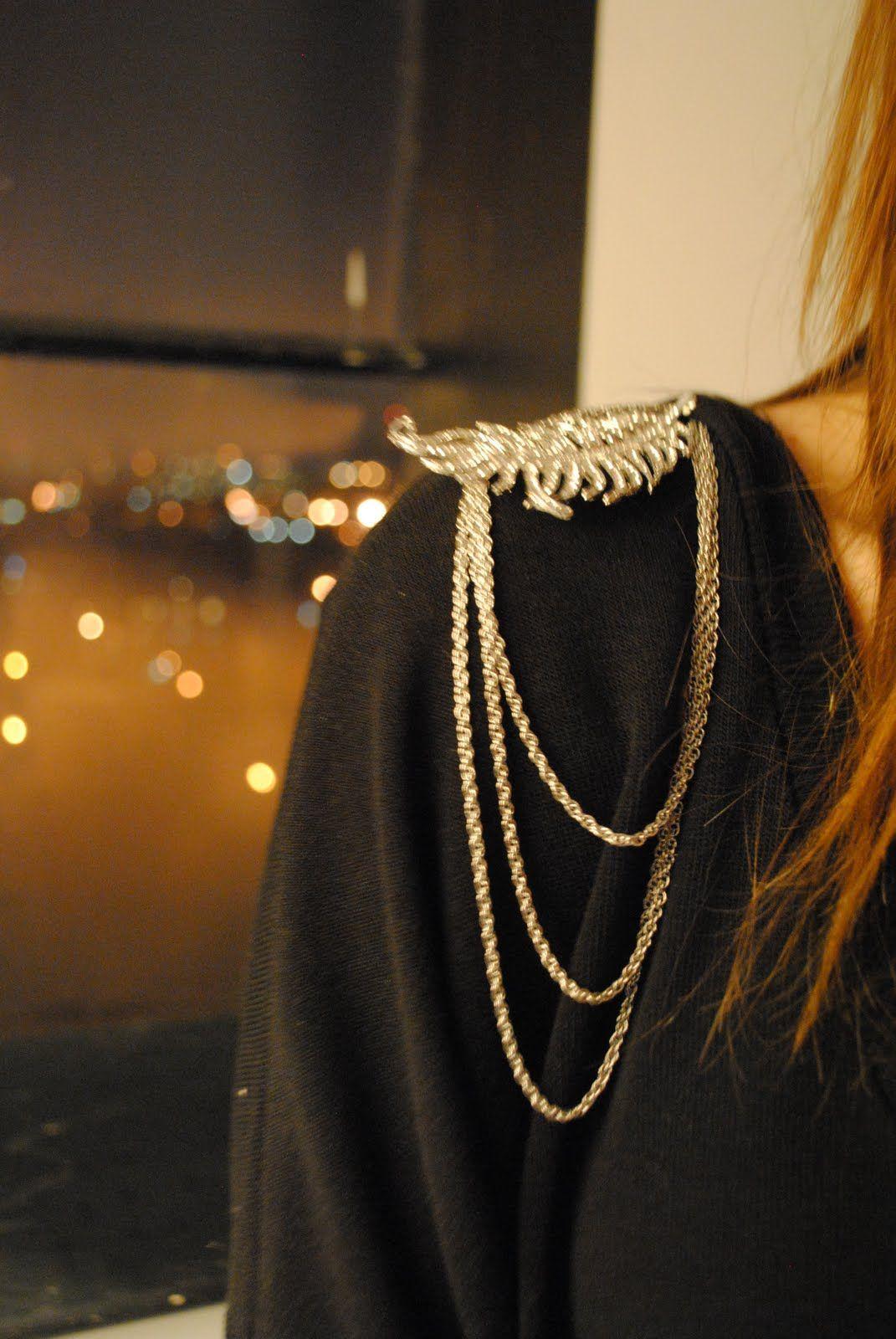 Boring to high-fashion - DIY Balmain look: embellished ...