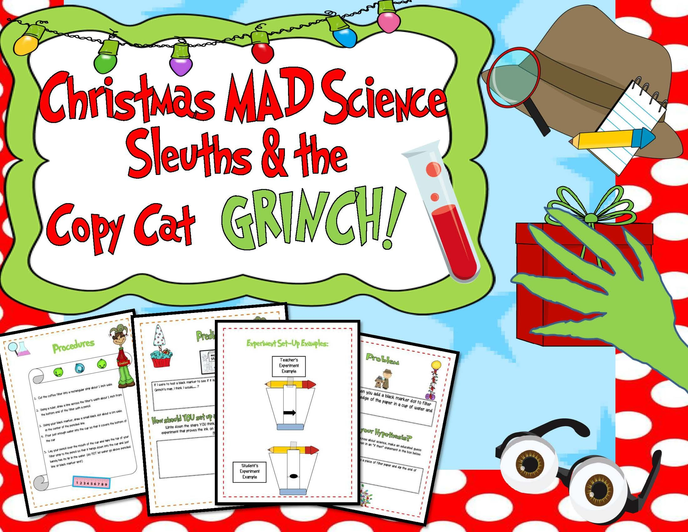 Publishers Tech Girl Christmas Mad Science Sleuths
