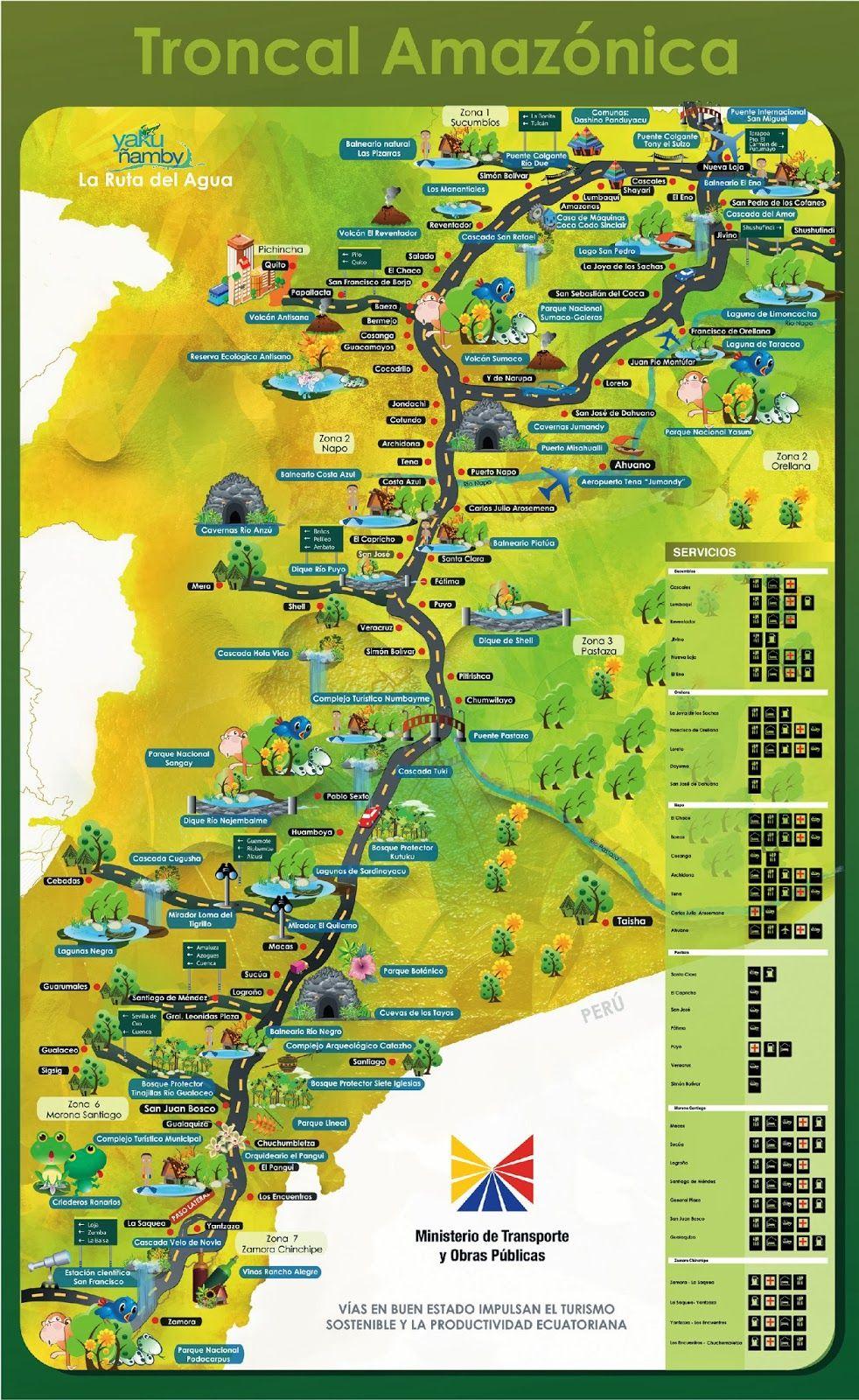 Tourist And Road Maps Of Ecuador Travel Book Travel Blog Travel