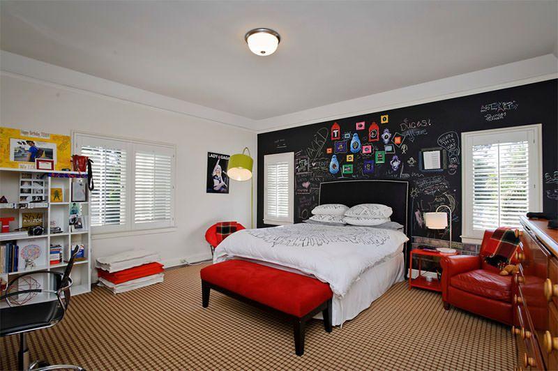 Conceptions de chambre de garçon chambre pour garçons adolescents chambre dado garçons adolescents murs en tableau noir chambres supplémentaires