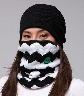 Celtek Womens Ruby Snowboarding Face Mask in chevron  6eb58ef092