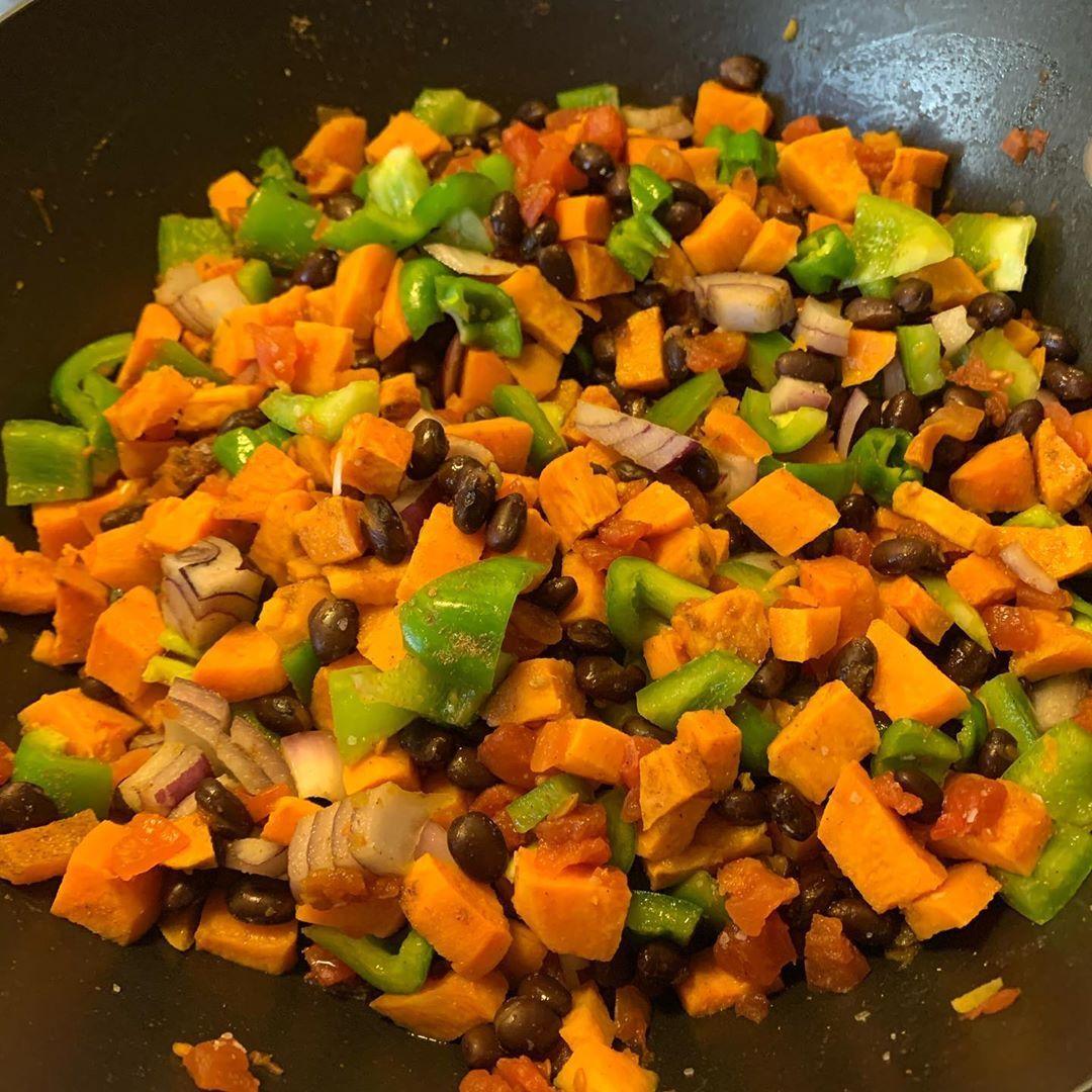 Meal prep: sweet potato tacos