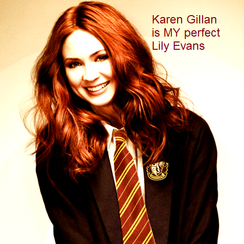 Pin By Mari On Witchcraft Karen Gillan Lily Potter Lily Evans