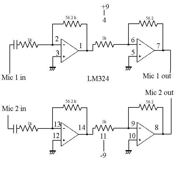 Image Result For Lm324 Amplifier Circuit Info Al Pinterest
