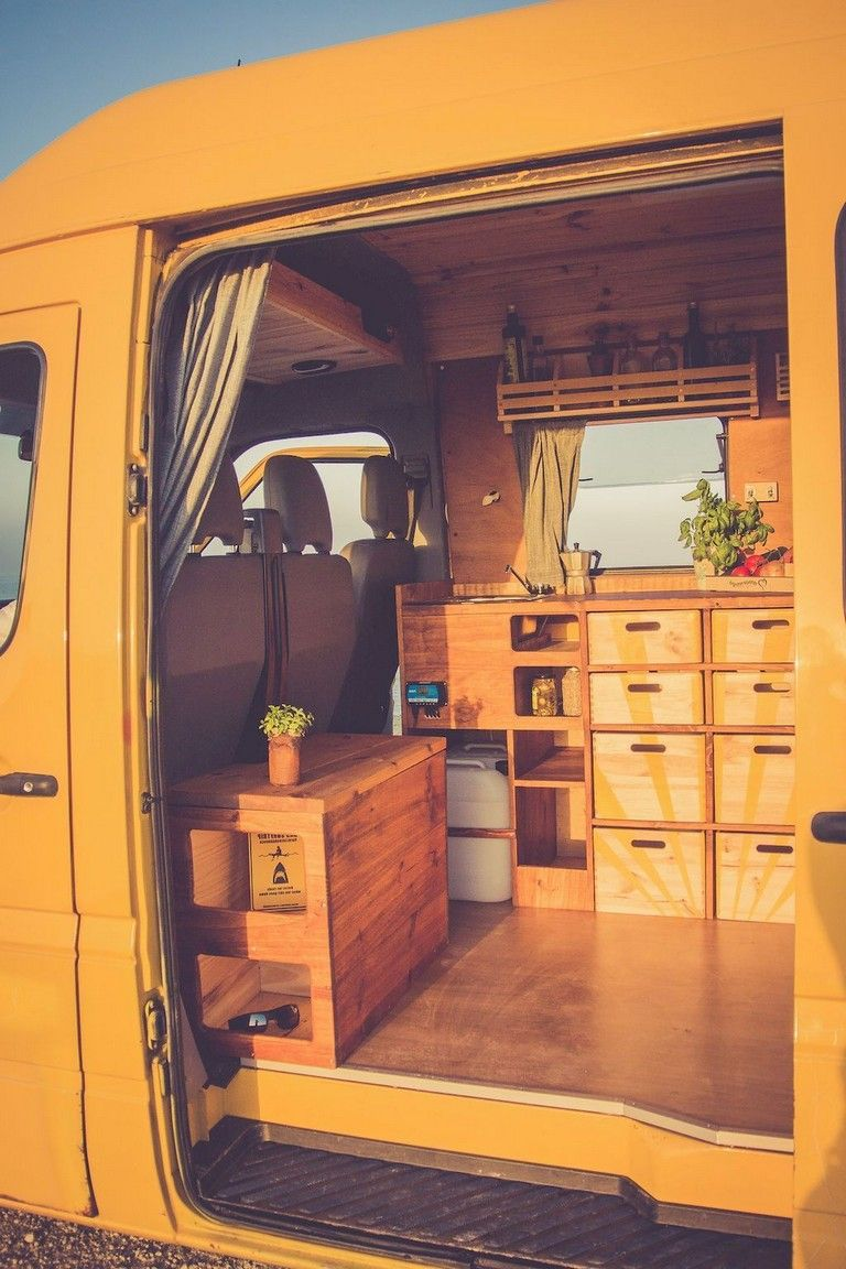 76+ Inspiring RV Living & Camper Van Storage Solution Ideas | Camper