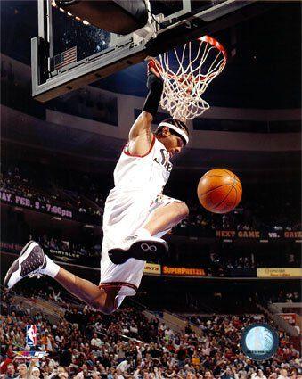 Allen Iverson  www.kingsofsports.com  philadelphia 76ers