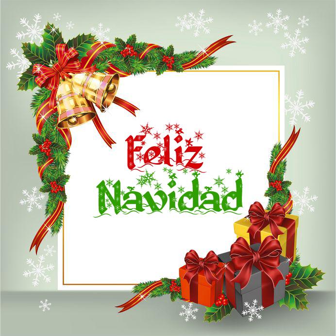 Tarjetas Y Postales De Navidad Para Enviar Png 692 692 Tarjeta De Navidad Mensajes Letrero De Feliz Navidad Felicitaciones Navidad