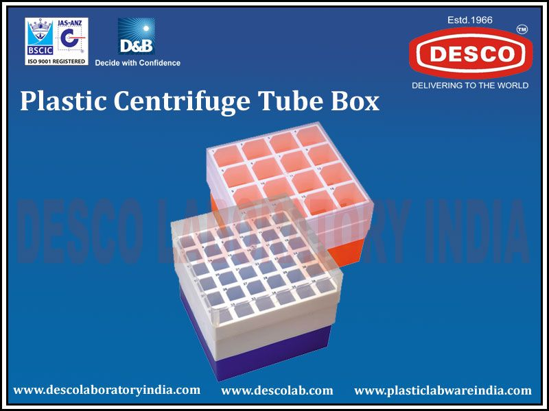 We are the manufacturers of Plastic Centrifuge Tube Box in India. These tube boxes are made up by polypropylene and autoclavable. To get more details about it check out our website.