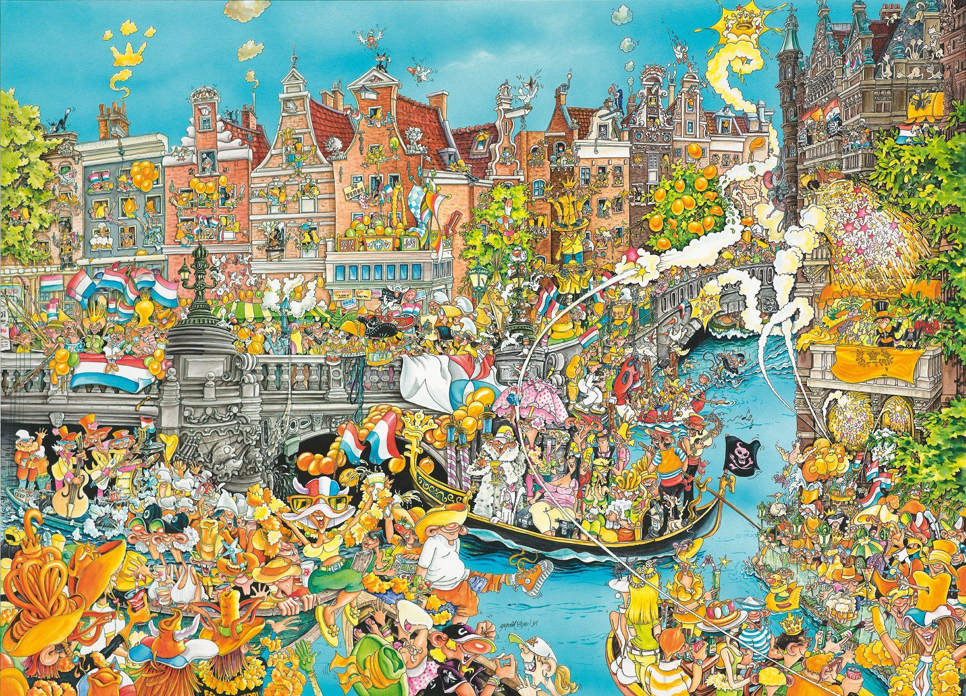 Praatplaat Koningsdag Amsterdam