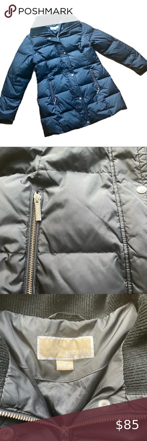Michael Michael Kors Black Puffer Jacket Black Puffer Jacket Black Puffer Michael Kors Black [ 1740 x 580 Pixel ]