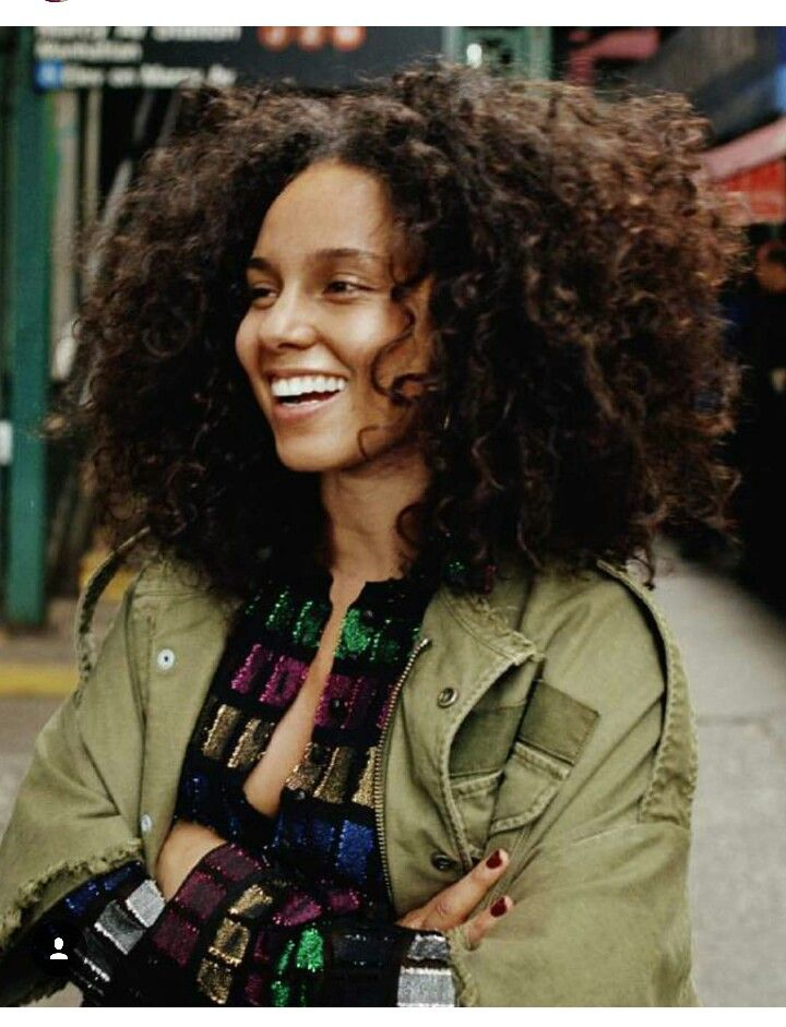 Alicia Keys Natural Beauty Curly Hair Styles Natural Hair Styles Hair