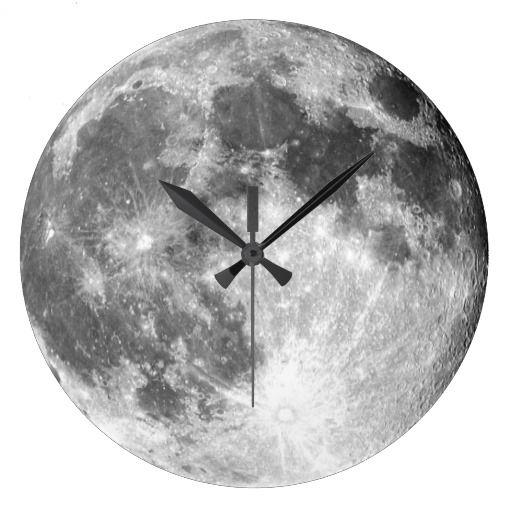 This is my designer moon clock.