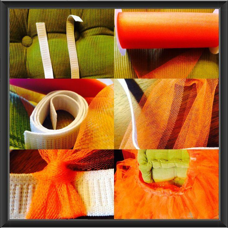 How to make a tutu. Made for Orangetheory Fitness. - #Fitness #OrangeTheory #tutu