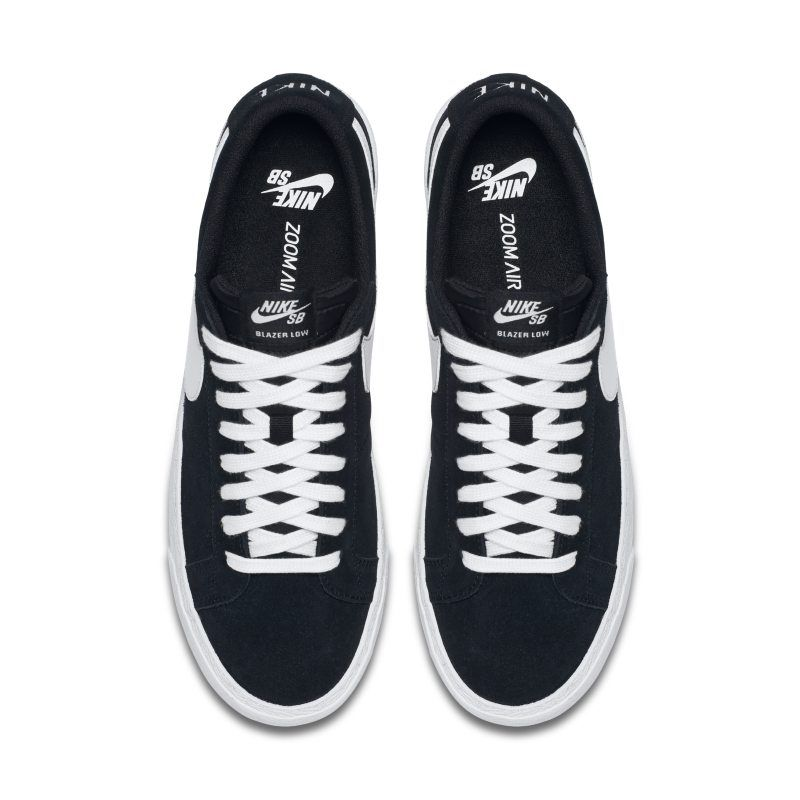 7305e5a80e2 Nike SB Blazer Zoom Low Men s Skateboarding Shoe - Black
