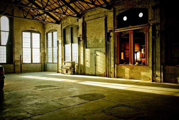 The venue for NADA Hudson. Courtesy of Basilica Hudson.
