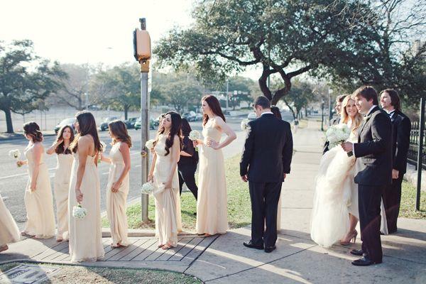 bride bridesmaid nude Real
