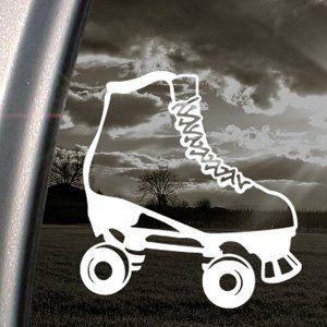 Rollerskate Decal Car Truck Bumper Window Sticker By Ritrama Http - Car window stickers amazon uk