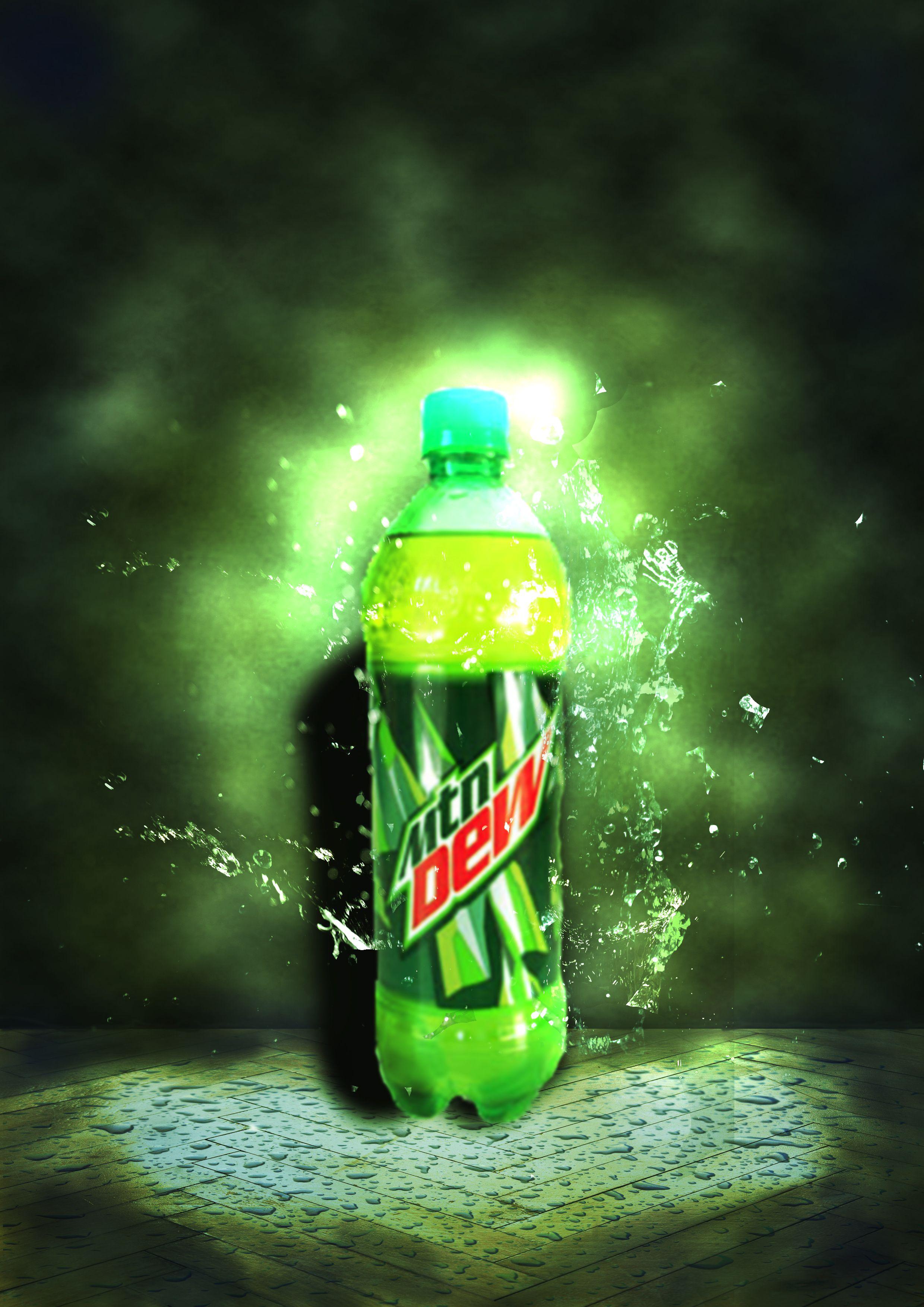 Mountain Dew Chugging Burping