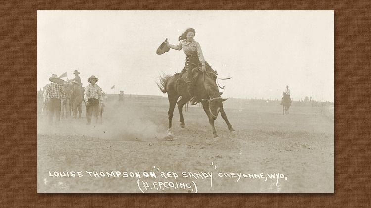 I Can Ride That Bronc! - True West Historical Society