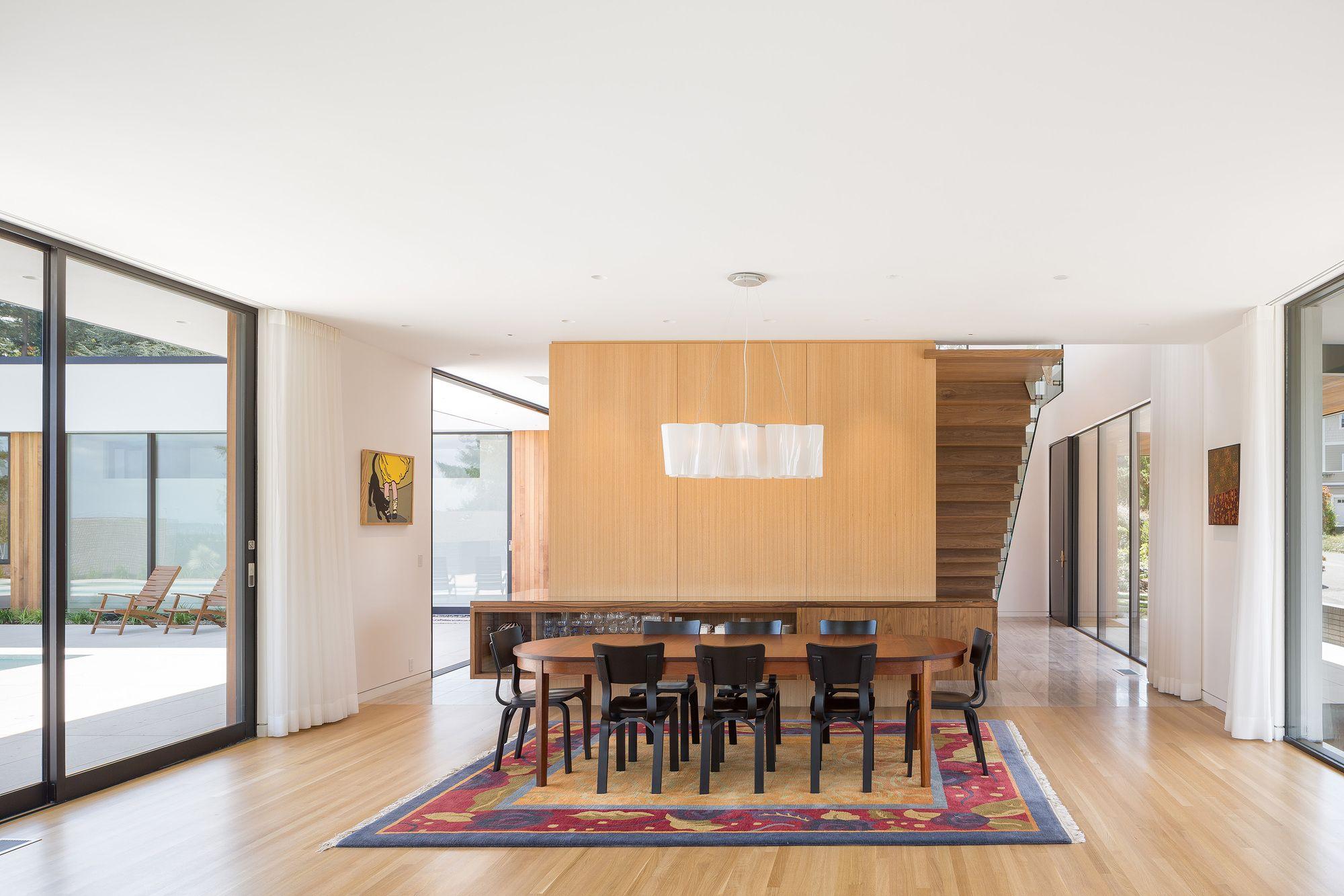 Diseño de casa moderna de un piso, construcción cuenta con hermosas ...