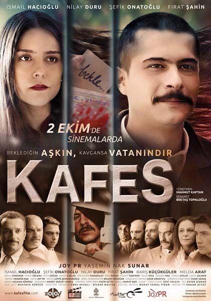 Kafes - 02 Ekim 2015 Cuma   Vizyon Filmi #Kafes #Sinema #Movie #film İsmail Hacıoğlu, Nilay Duru, Şefik Onatoğlu, Fırat Şahin http://www.renklihaberler.com/sinema-948-Kafes