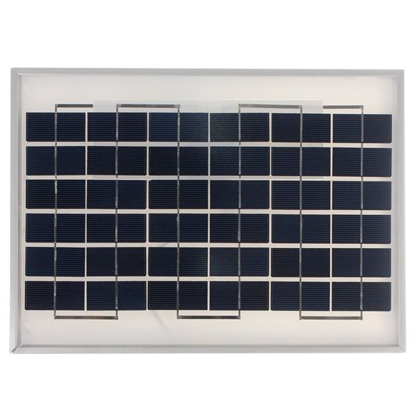 Scm Solar 12v 10w 330 x 300 x 20mm polycrystalline solar panel with 2m cable
