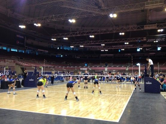 Mid East Volleyball Qualifier in St. Louis, MO DAY 1  #wherethegamebegins #allvolleyballinc