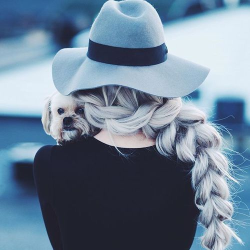 Image via We Heart It #beautiful #girl #goal #hair #hairstyle #hairstyles #style #vsco