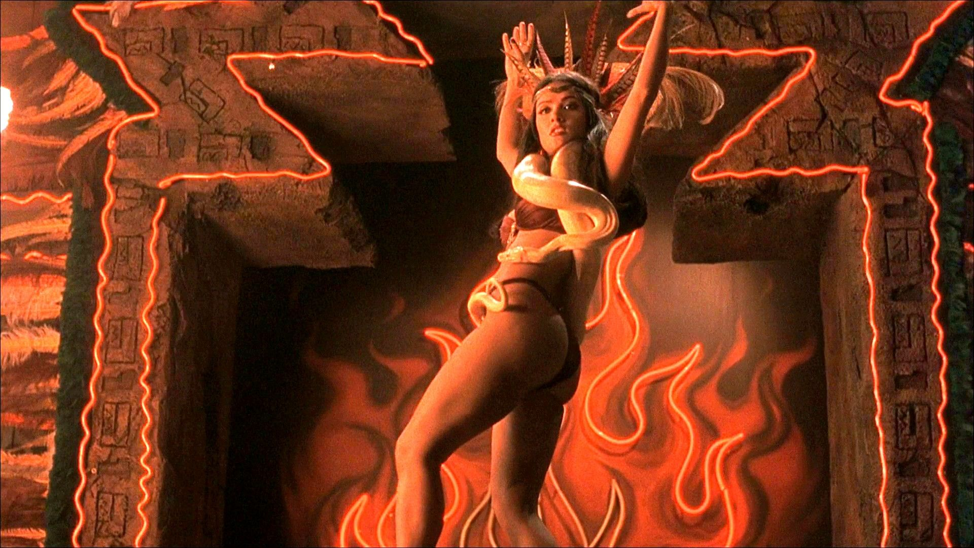 Photo Of Salma Hayek From From Dusk Till Dawn 1996 With Images