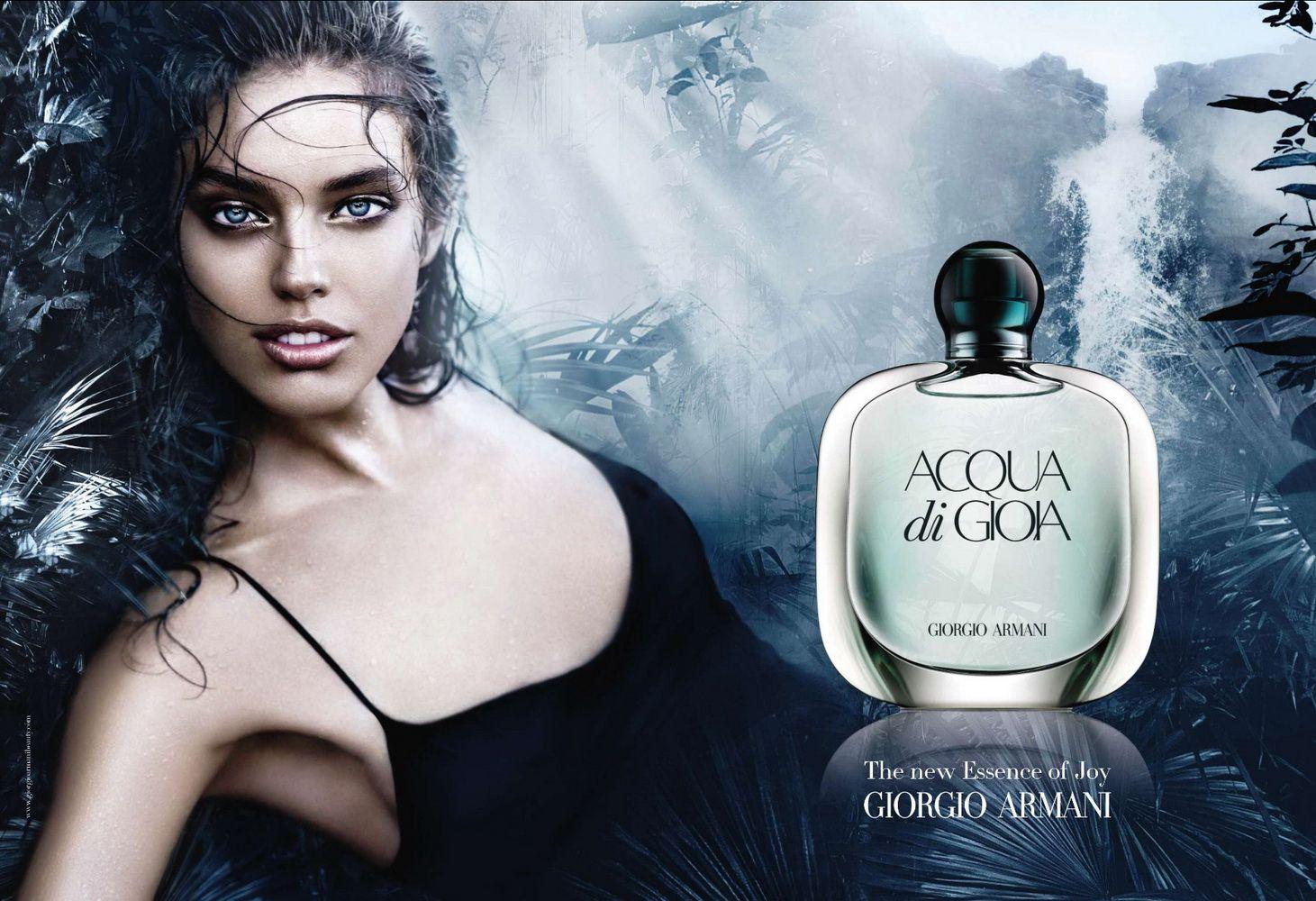 acqua di gioia by giorgio armani women edp 2010 campaign