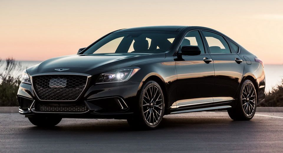 How Does Genesis' New 2018 G80 Sport Look In Black Black