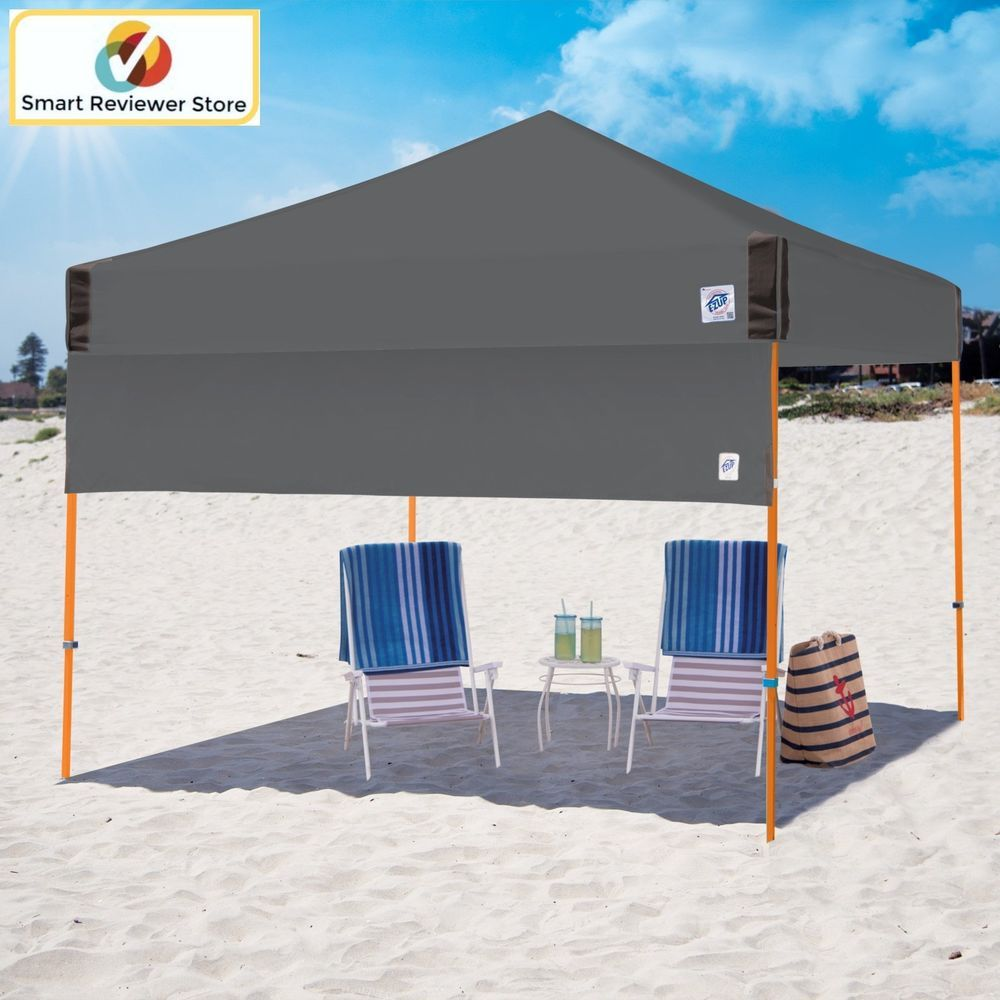 Instant Canopy Tent 10X10 Half Wall Outdoor Pop Up Gazebo Patio Beach Sun Shade & Instant Canopy Tent 10X10 Half Wall Outdoor Pop Up Gazebo Patio ...