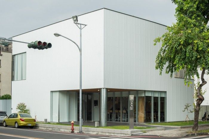 Rüskasa Cafe》實作設計的多樣性可能,為年輕世代奠基   Architecture, Outdoor decor, Outdoor