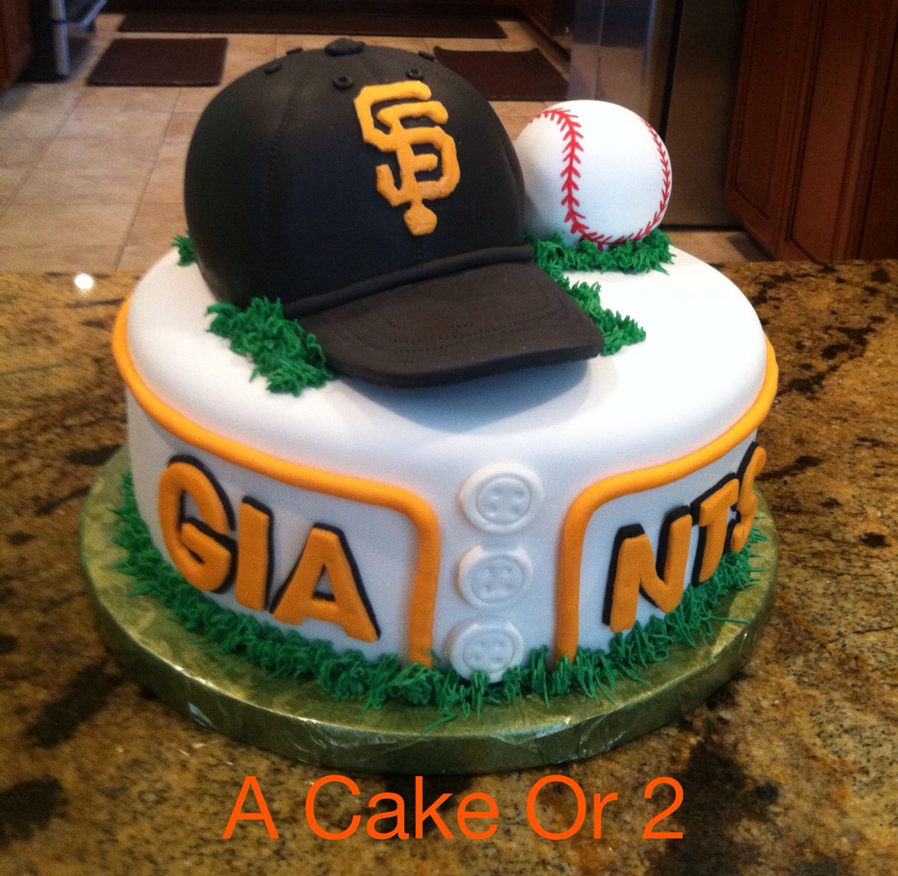 San Francisco Giants birthday cake acakeor2comcastnet cakes and