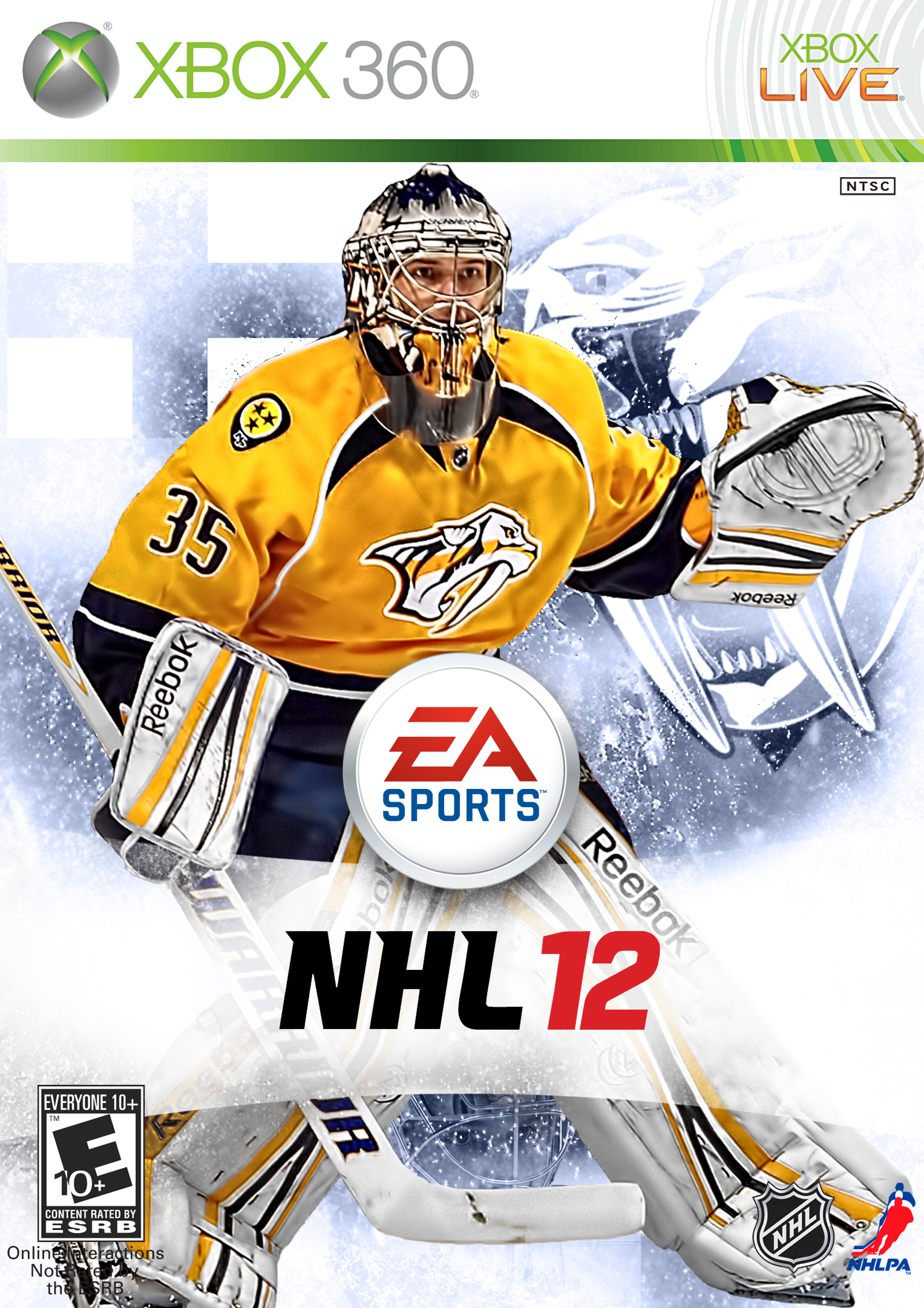 This should be the cover for NHL13