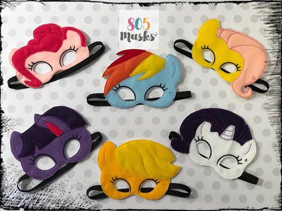 My Little Pony Inspired Masks My Little Pony My Little Pony