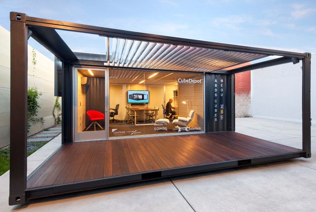 Shipping container office Cargotecture Pinterest Shipping