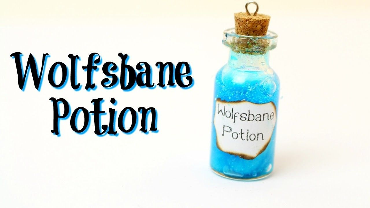 Diy Wolfsbane Potion Harry Potter Inspired Harry Potter