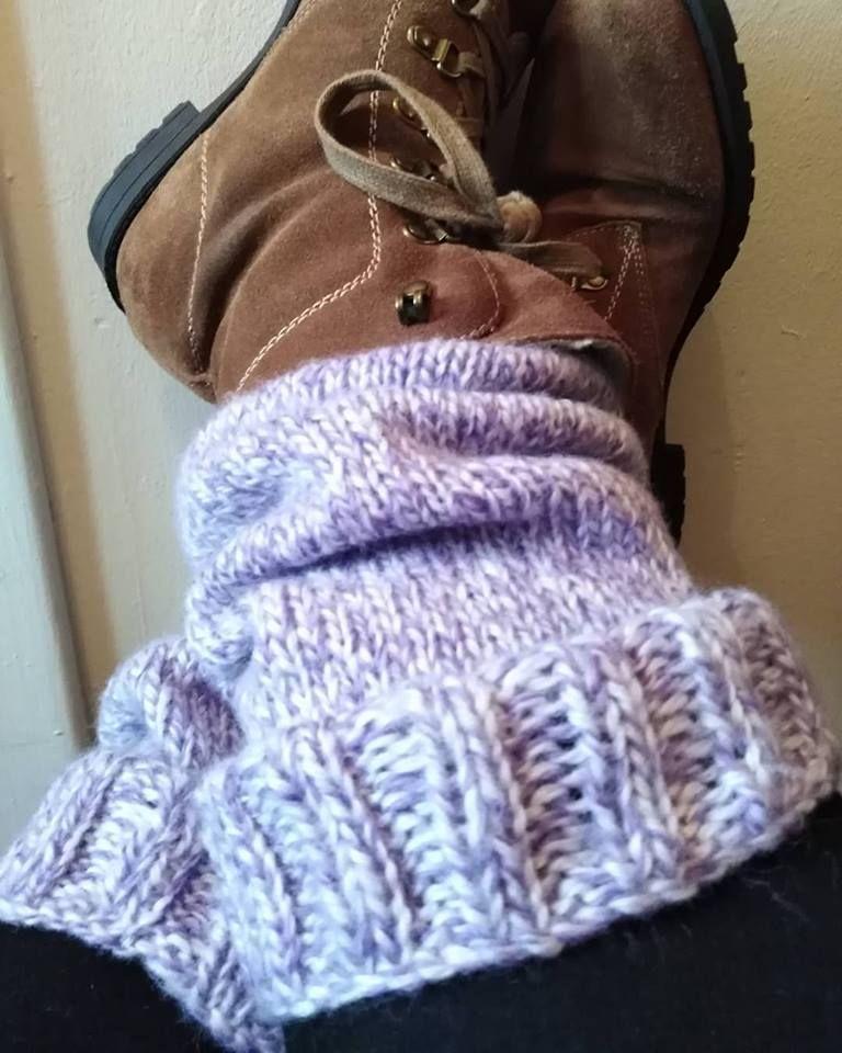 Knitted Leg Warmers - Free Pattern   Knit leg warmers ...
