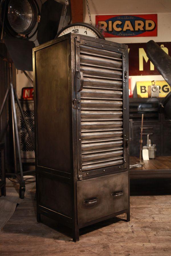Meuble Indsustriel Muebles De Diseno Industrial Muebles De Metal Muebles Industriales Clasicos