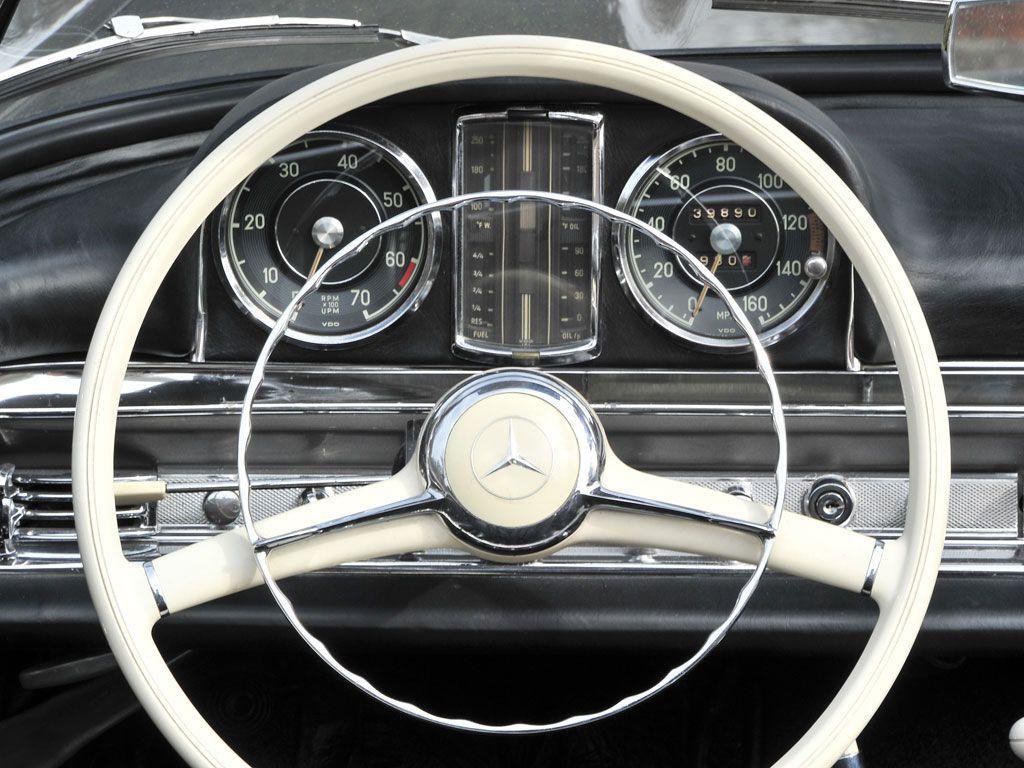 AWE Wartburg 311 Coupé (1958) | Classic Car Dashboard Desgin ...