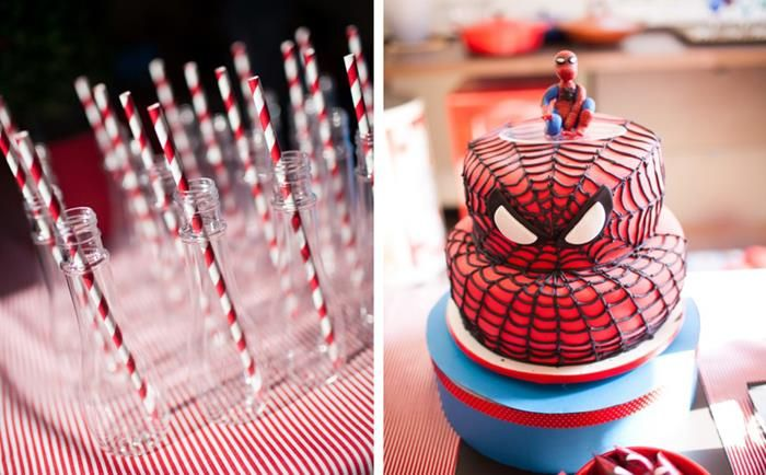 Spiderman Party Planning Ideas Supplies Idea Cake Decorations