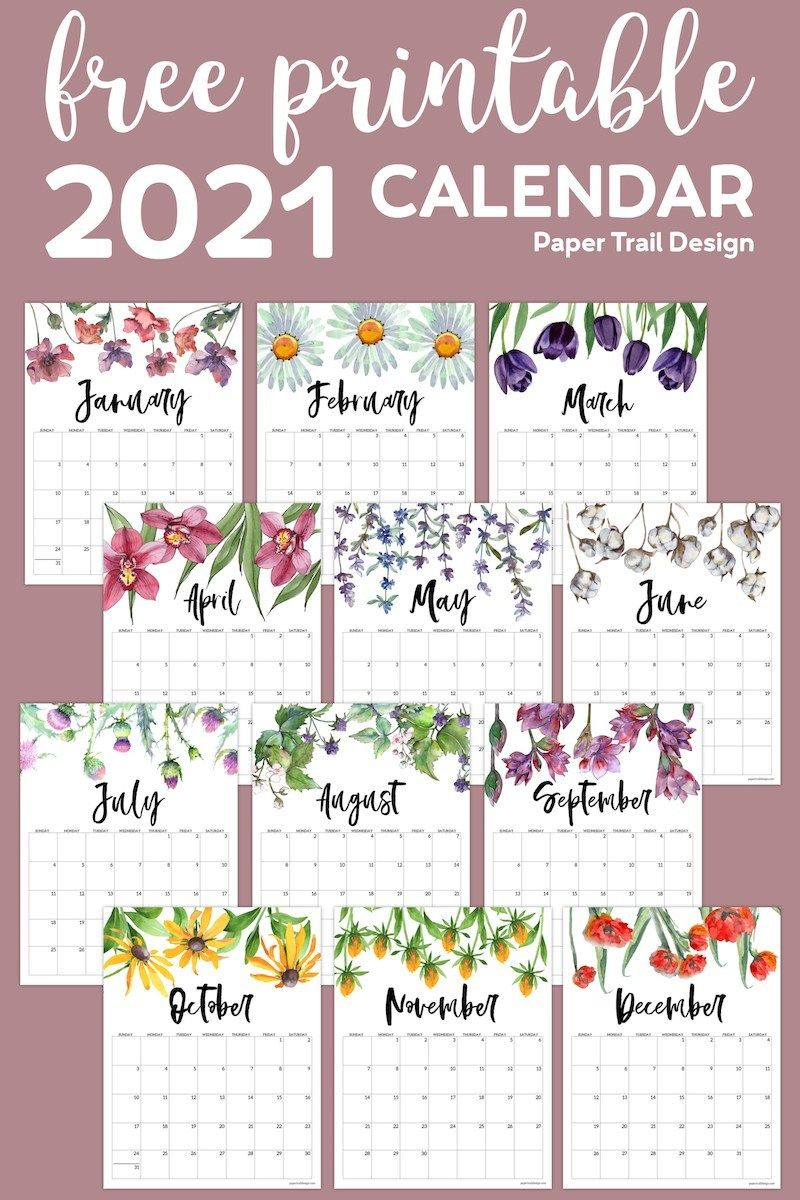 By john corpuz 25 january 2021 get organized and stay on schedule with the best calendar apps for android and ios. 20+ Aesthetic Calendar 2021 Design - Free Download ...