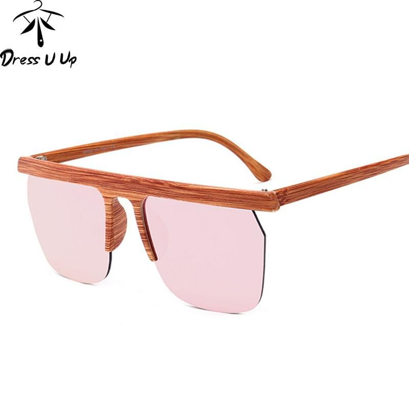 6185d779cd DRESSUUP New Sunglasses Women Brand Designer Big Frame For Woman Men  Eyewear UV400 Oculos De Sol Feminino Gafas