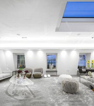 INTERIOR DESIGN PROJECTS|Fernanda Marques Arquitetos Loft in london |http://bocadolobo.com/ #interiordesignprojects #moderninterior
