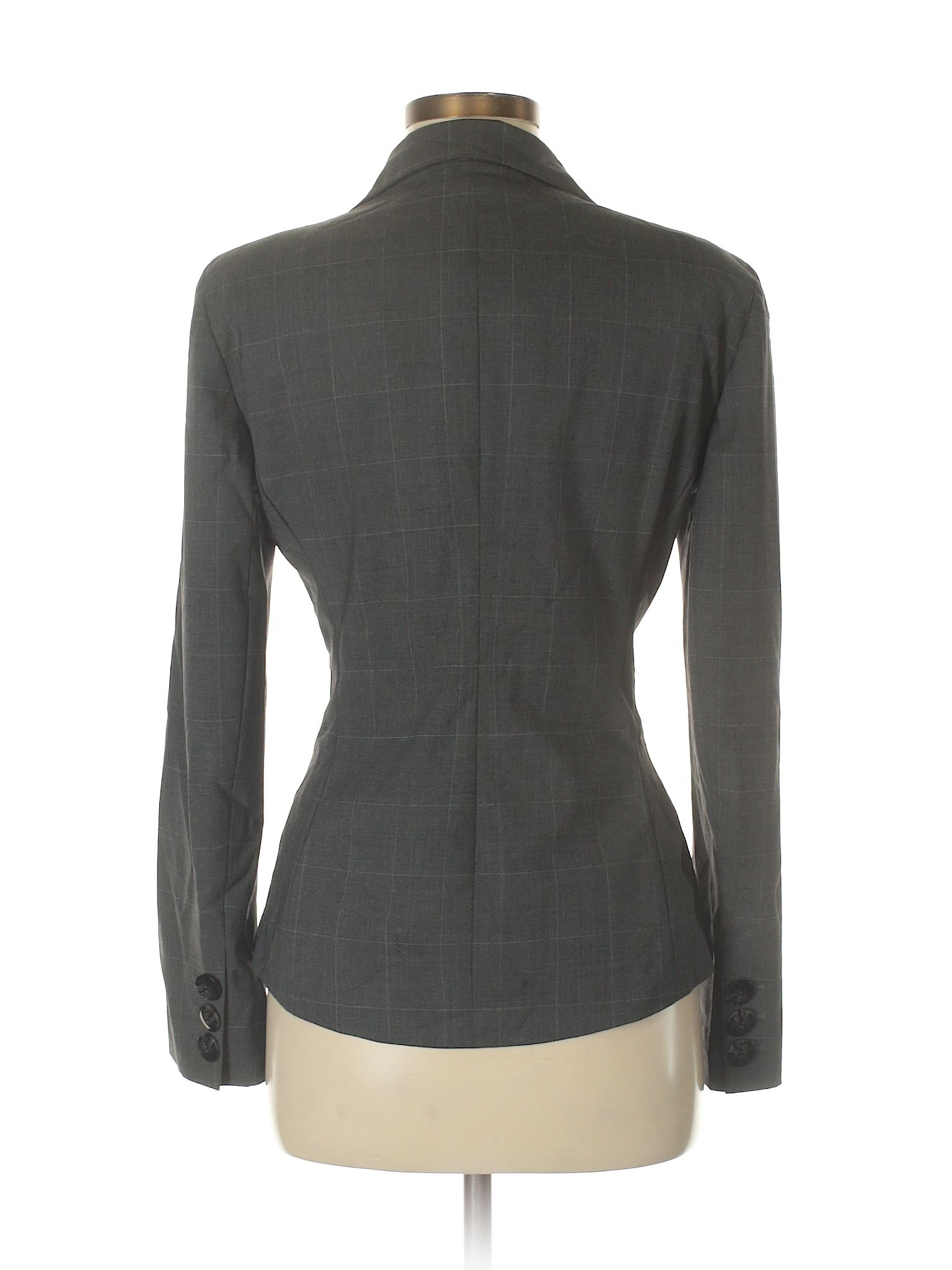 5729d8230f9f Lafayette 148 New York Wool Blazer: Gray Women's Jackets & Outerwear -  30660198