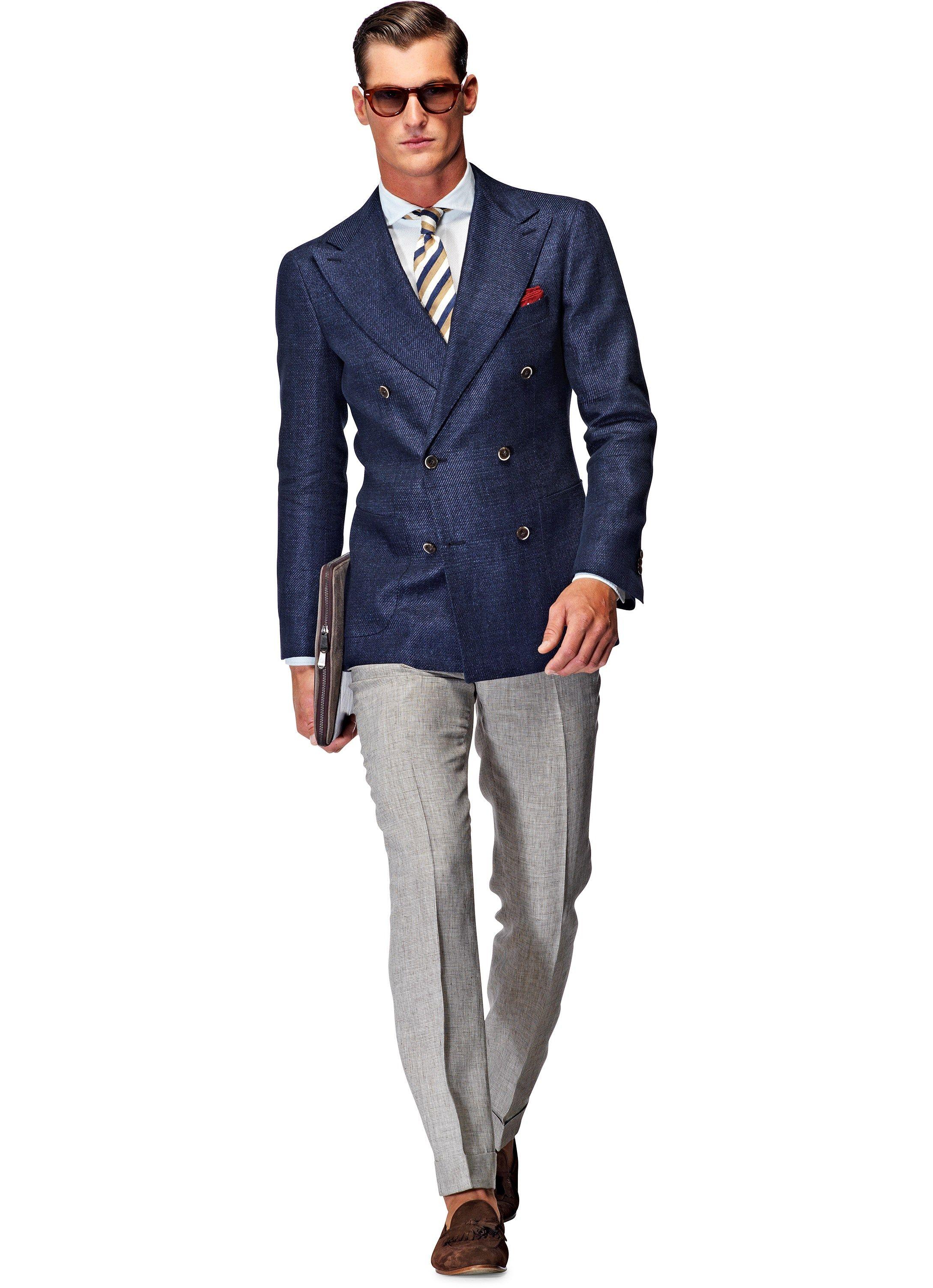 Jacket Blue Plain Madison C752  b1a7c204bfe