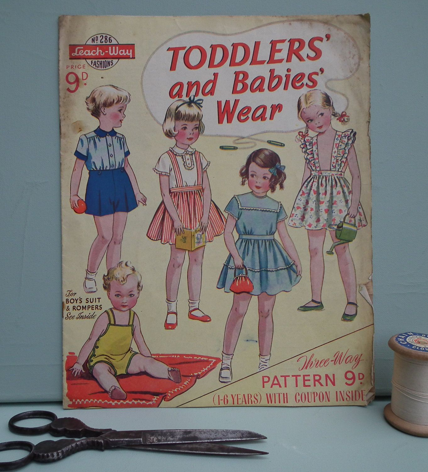 Sewing Patterns Catalog 1940s 1950s - Childrens Clothing ...