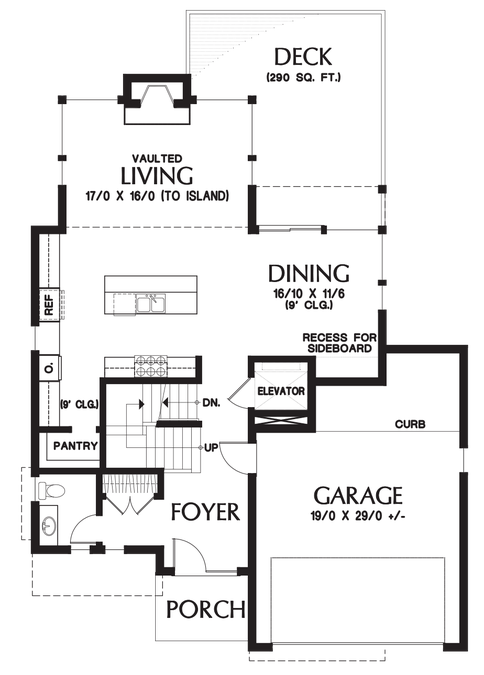 Plan  23101 The Ontario  House  plans  How to plan